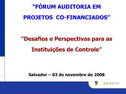 Missão Estratégia Páis c/ Presid. Moreno
