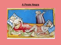 A Peste Negra e outras doenças