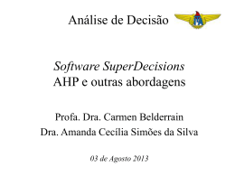 aula 1c superdecisions outras abordagens