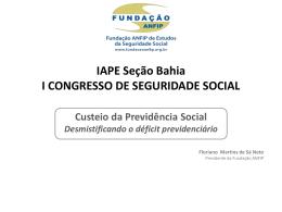 Ordem Social - Fundação ANFIP