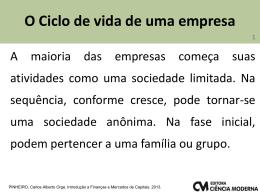 Parte 4 - Carlos Pinheiro - Quando o assunto é finanças