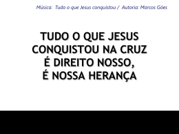 TUDO O QUE JESUS CONQUISTOU3