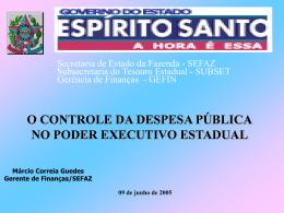 Marcio Guedes - Governo do Estado do Espírito Santo