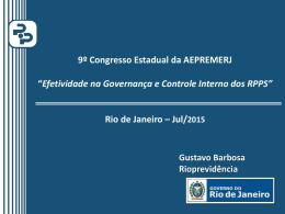 Efetividade na Governança – Gustavo Barbosa
