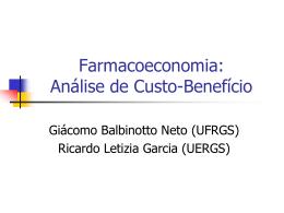 Introdução à Farmacoeconomia - Programa de Pós