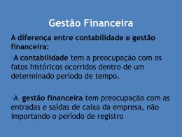ADM Financeira II - CRA-MA