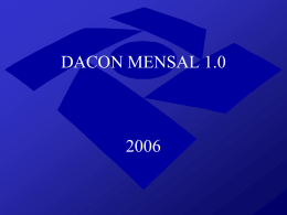 DACON Mensal 1.0