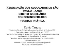 curso aasp. direito imobiliário. novembro de 2012. condomínio