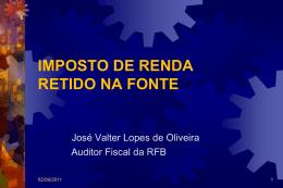 imposto de renda - Controladoria Geral do Estado do Piauí