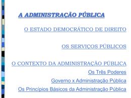 Apresentação PPT - Contabilidade Governamental