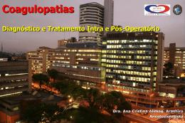 Coagulopatias e Drogas Vasoativas em Cirurgia Cardíaca