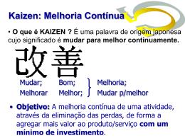 Kaizen - osmar veras araujo