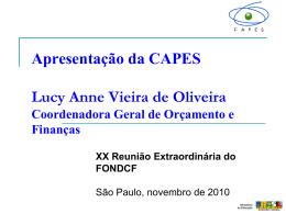 Palestra apresentada por Lucy Anne Vieira de Oliveira