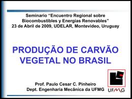 Consumo de Biomassa no Brasil