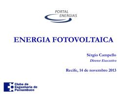 nergia fotovoltaica - Clube de Engenharia de Pernambuco