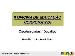 Educação Corporativa no Contexto das Políticas Públicas de