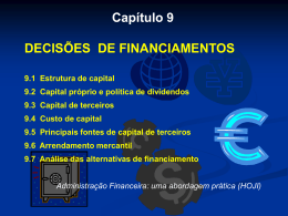cap9 financiamentos