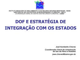 Dof e a Integração DBFLO