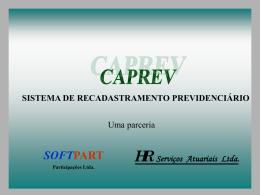 - Apresentação do CAPREV