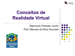 Conceitos de Realidade Virtual e tecnologias - WWW2