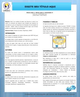 Modelo de Poster PP_UNISO