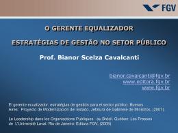 Bianor Cavalcanti - O Gerente Equalizador