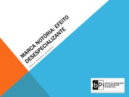 Diluição de Marcas - Denis Borges Barbosa