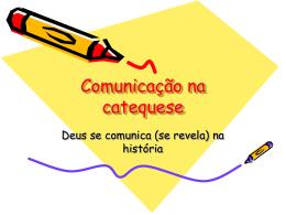Comunicação na catequese