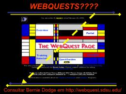 O que é um(a) WebQuest? - Fordis