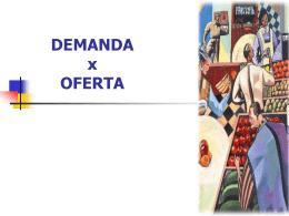 Demanda x Oferta e Equilíbrio de Mercado