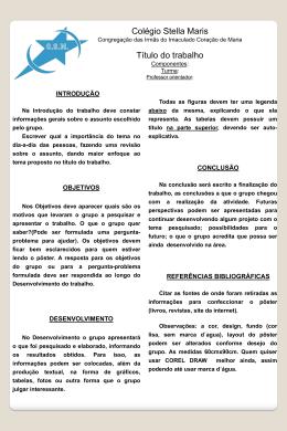 Componentes - Colégio Stella Maris