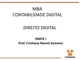 Do Direito Digital