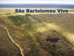 Projeto Rio São Bartolomeu Vivo - Comitê de Bacia Hidrográfica do