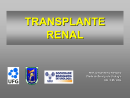 Transplante Renal .power point