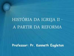 HISTÓRIA DA IGREJA II
