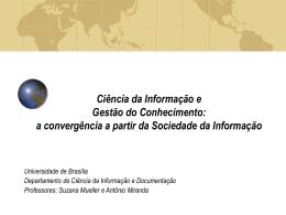 Ciência da Informação e Gestão do Conhecimento