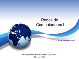 MAIL FROM - Unisinos