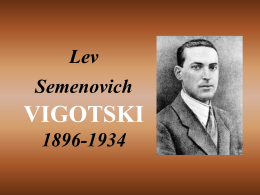 Lev Seminovitch Vygotski