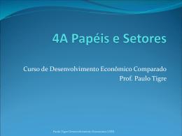 4A Papéis e Setores - Instituto de Economia da UFRJ