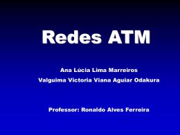 Camada Física Camada ATM Camada de Adaptação ATM