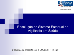 Apresentação Resolução Única VISAU_COSEMS 14.04