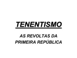 TENENTISMO