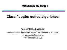Classificação: outros algoritmos