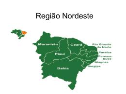 Unidade 05 – Região Nordeste