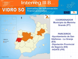 Vidro SO - interreg