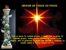 SENHOR DE TODOS OS POVOS
