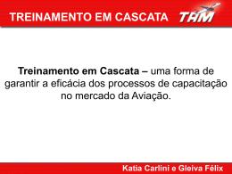 Treinamento em Cascata / Katia Carlini e Gleiva Félix