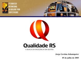 Liderança - Movimento Brasil Competitivo