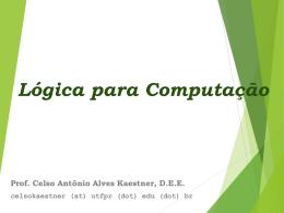 Lógica para Computação - DAINF