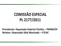 Comissão Especial PL 2177/2011